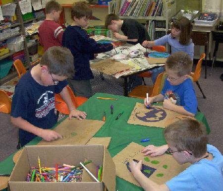 Blennerhassett Elementary School in Parkersburg, WV